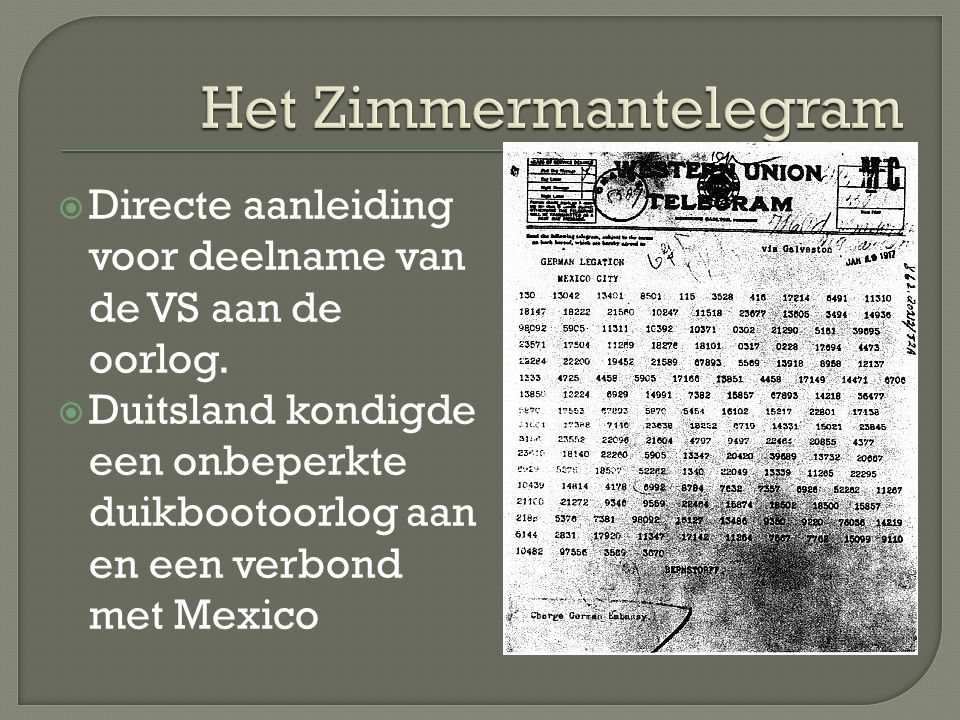 Het Zimmermantelegram