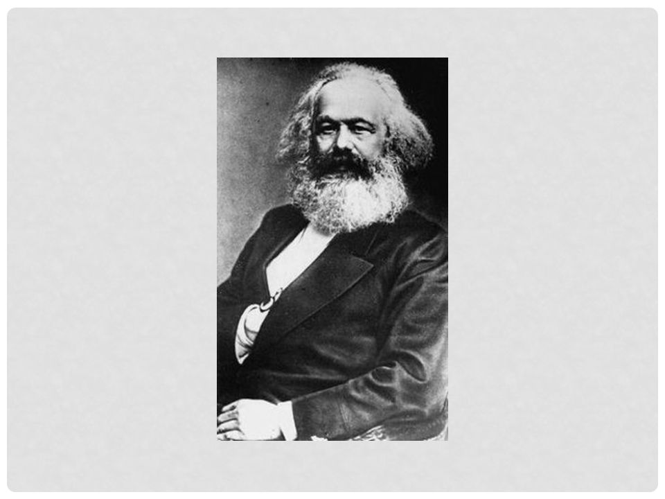 Karl Marx was een filosoof