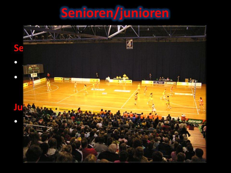 Senioren/junioren Senioren 5 spelers in het veld (incl. keeper)