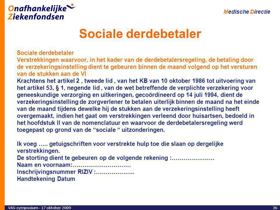 Sociale derdebetaler