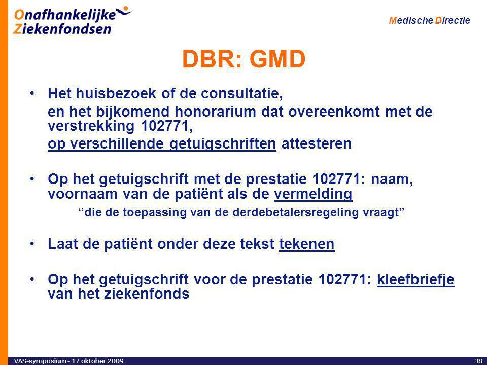 DBR: GMD Het huisbezoek of de consultatie,