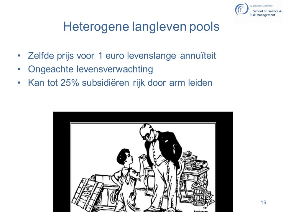 Heterogene langleven pools
