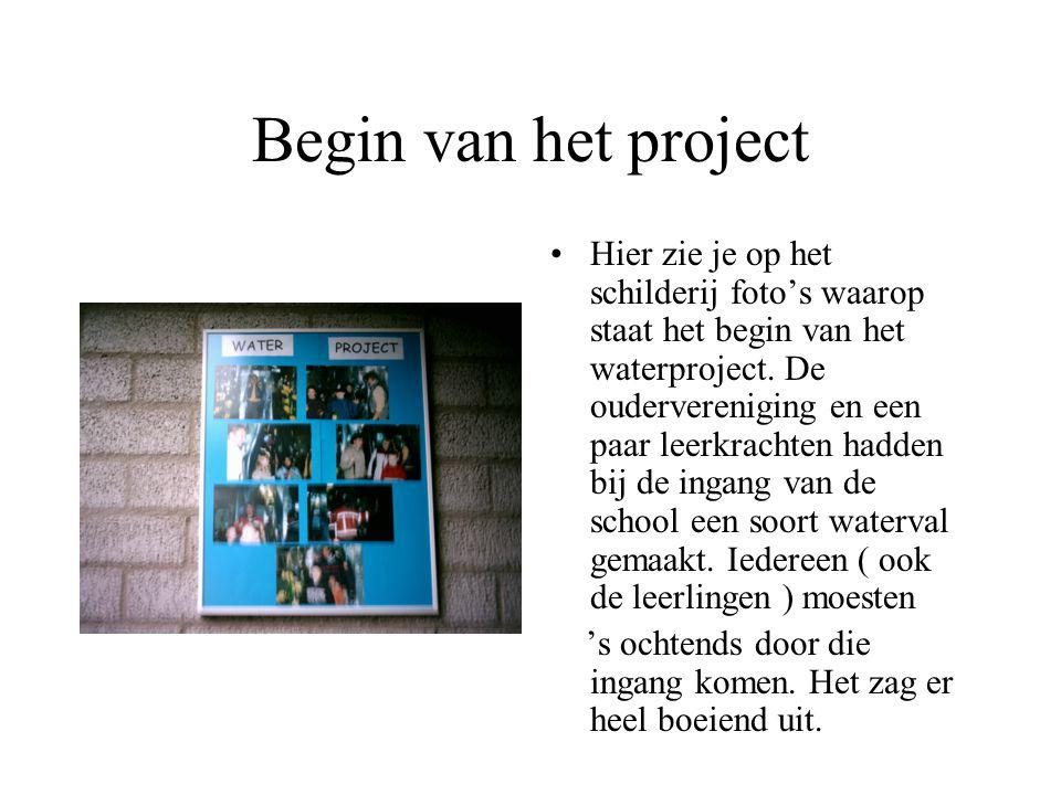 Begin van het project