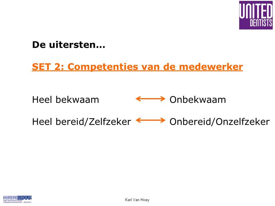 SET 2: Competenties van de medewerker