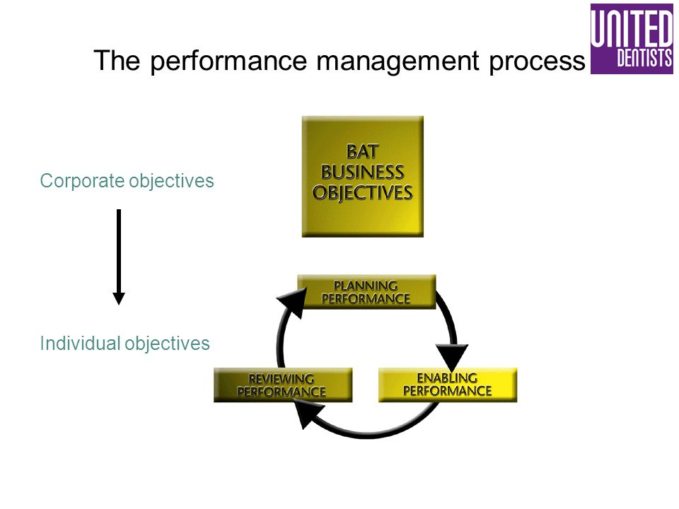 The performance management process