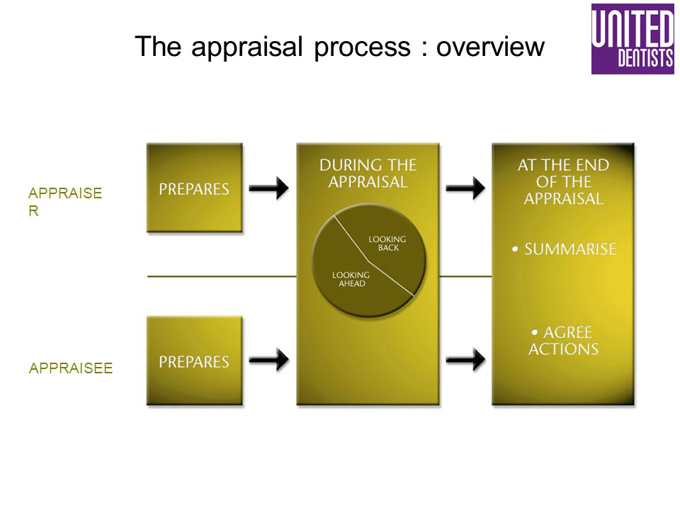 The appraisal process : overview