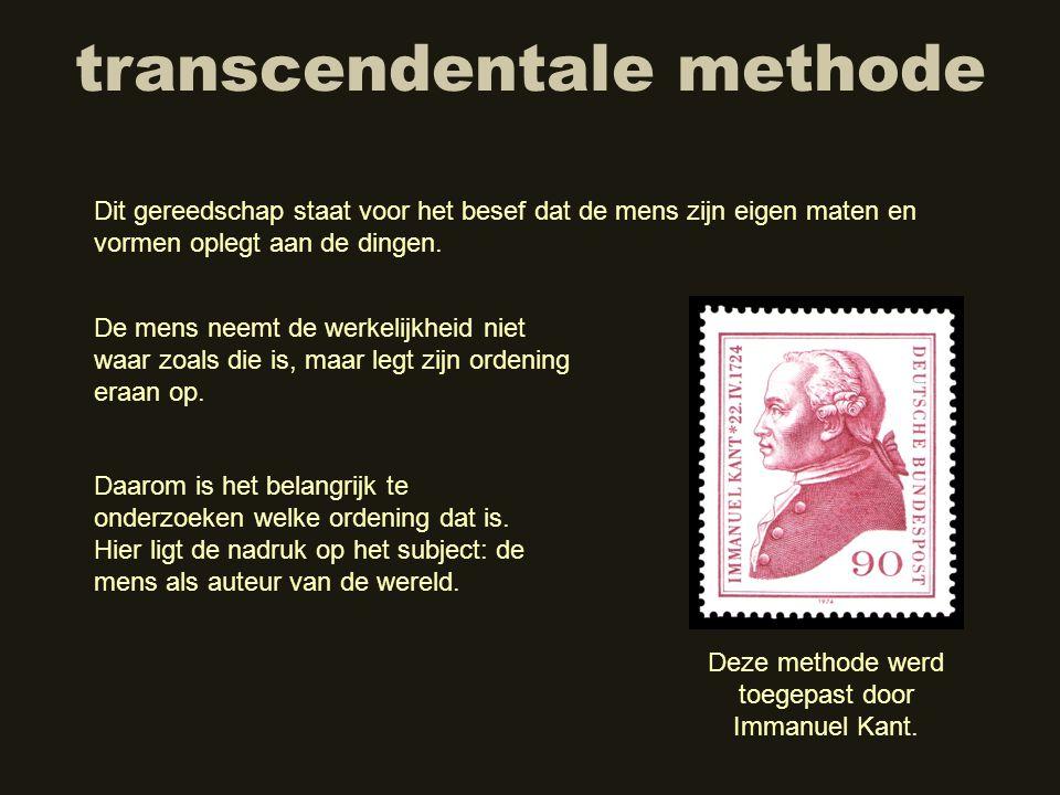 transcendentale methode