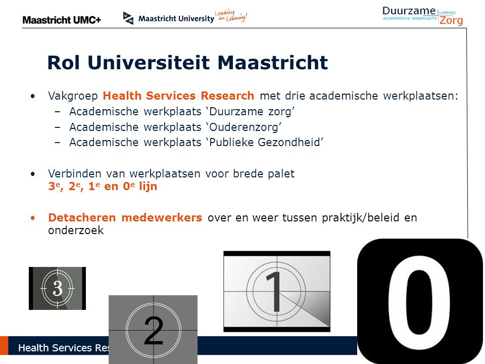 Rol Universiteit Maastricht