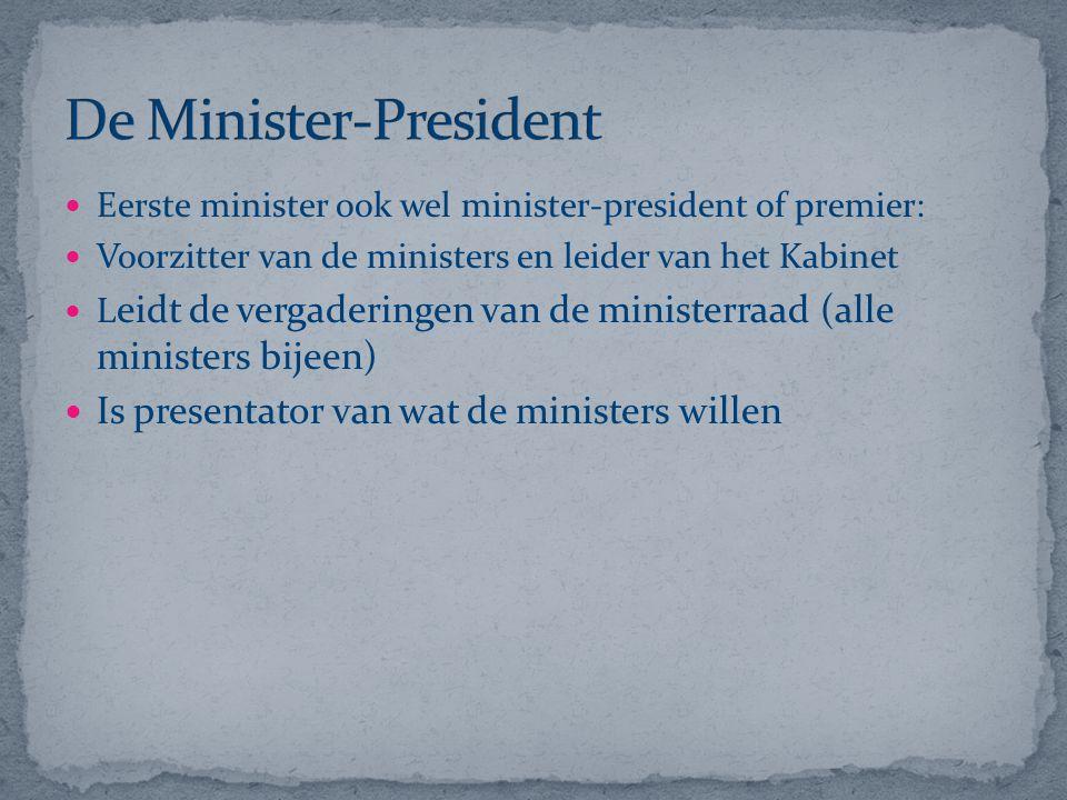 De Minister-President