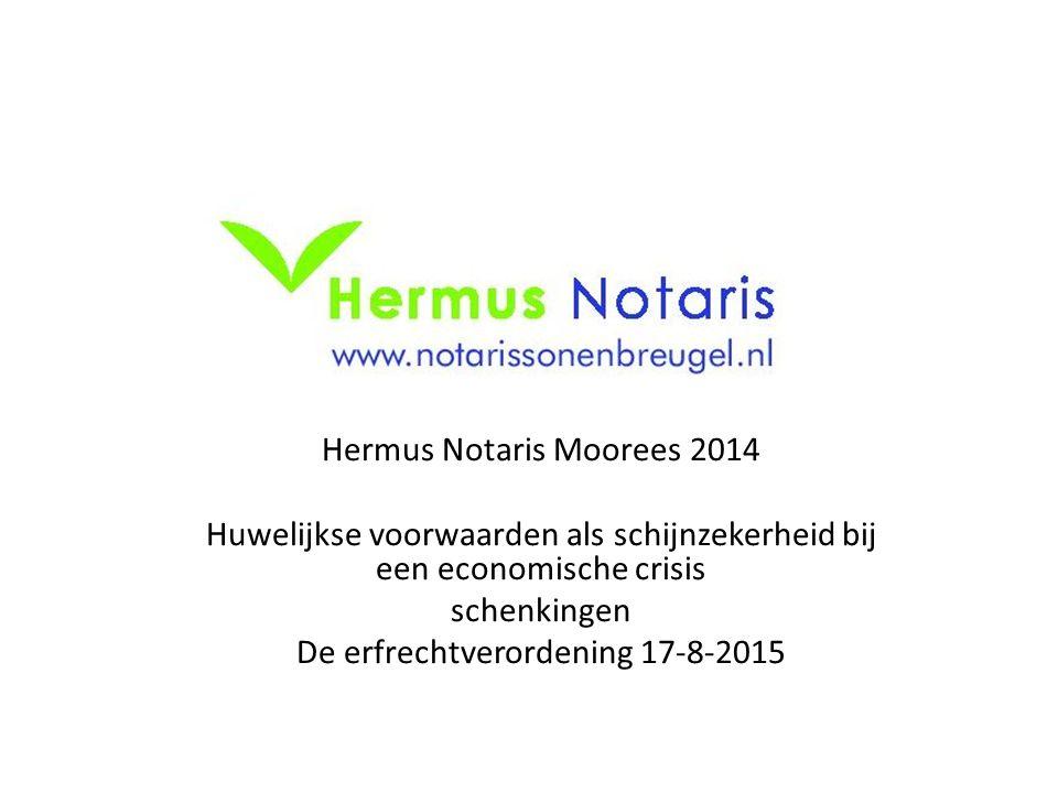 Hermus Notaris Moorees 2014