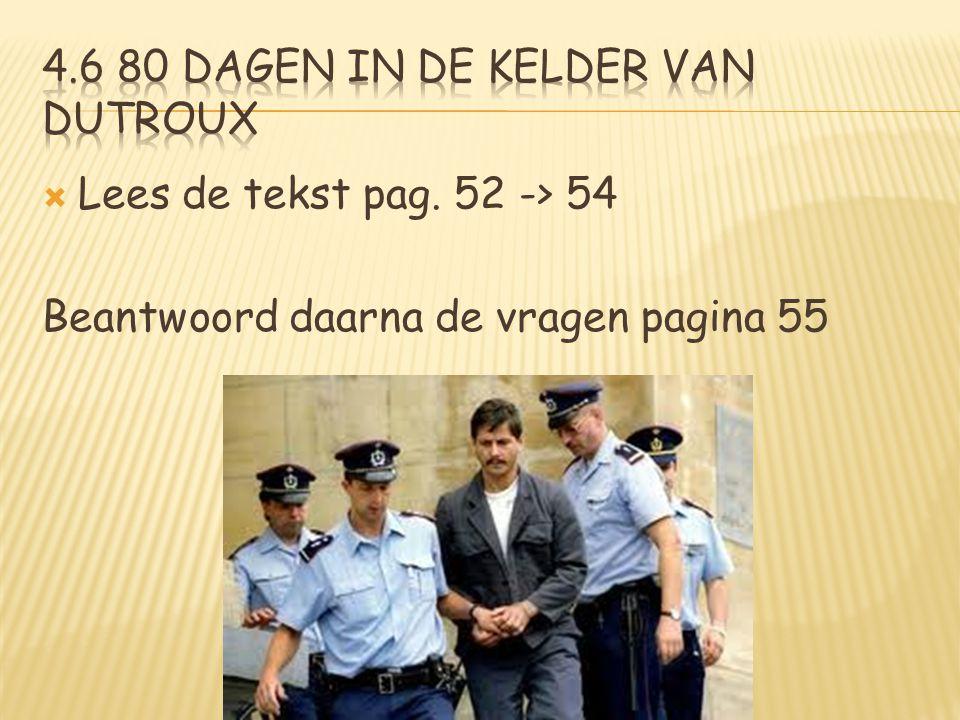 4.6 80 dagen in de kelder van Dutroux