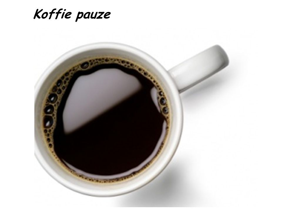 Koffie pauze 45