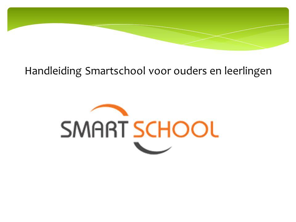 Handleiding Smartschool voor ouders en leerlingen