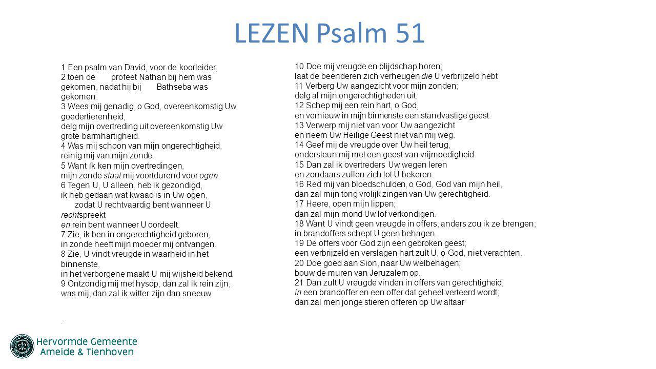 LEZEN Psalm 51