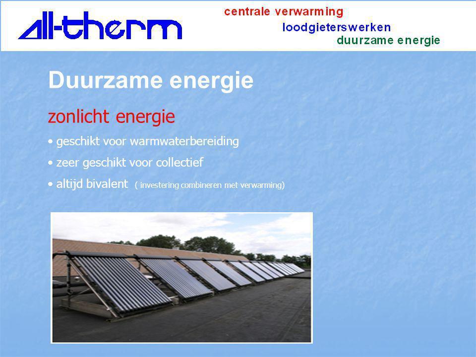 Duurzame energie zonlicht energie geschikt voor warmwaterbereiding