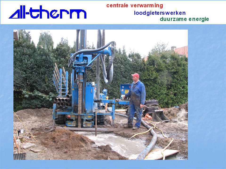 geothermische warmte Watmtepomp water/water of brijn/ water