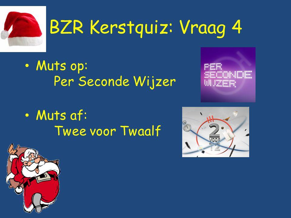 BZR Kerstquiz: Vraag 4 Muts op: Per Seconde Wijzer