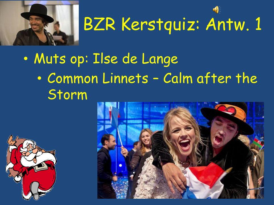 BZR Kerstquiz: Antw. 1 Muts op: Ilse de Lange