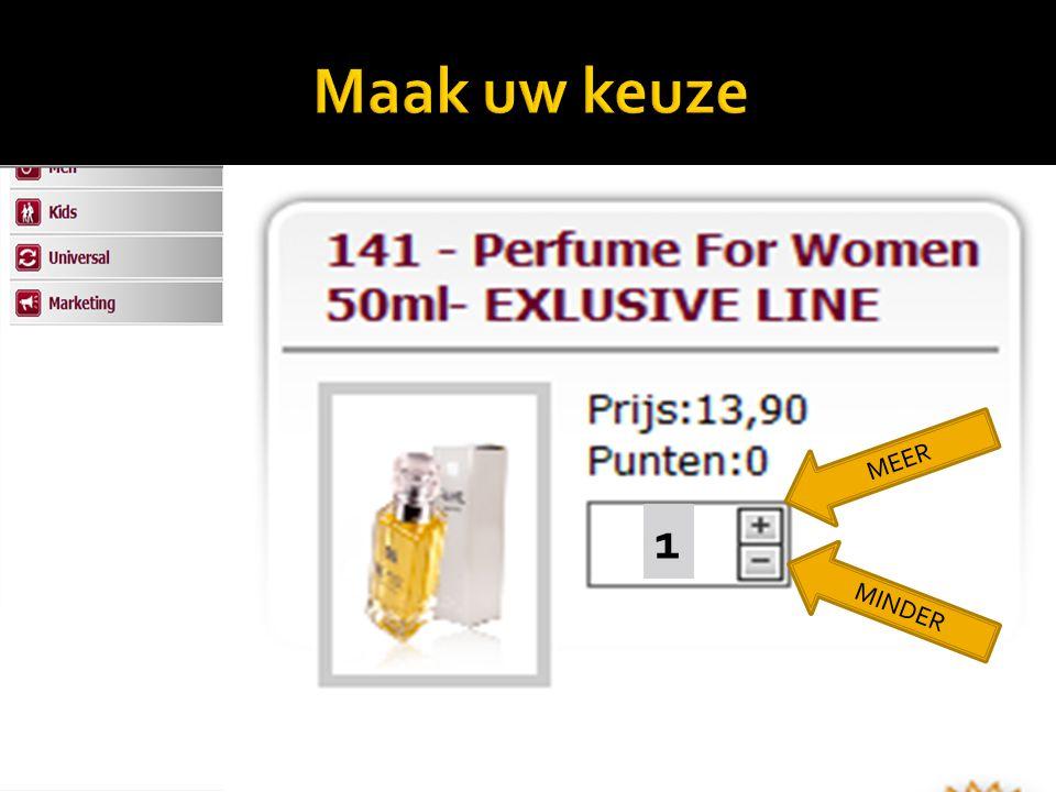 Maak uw keuze MEER Aanduiding Best verkochte geuren 1 MINDER