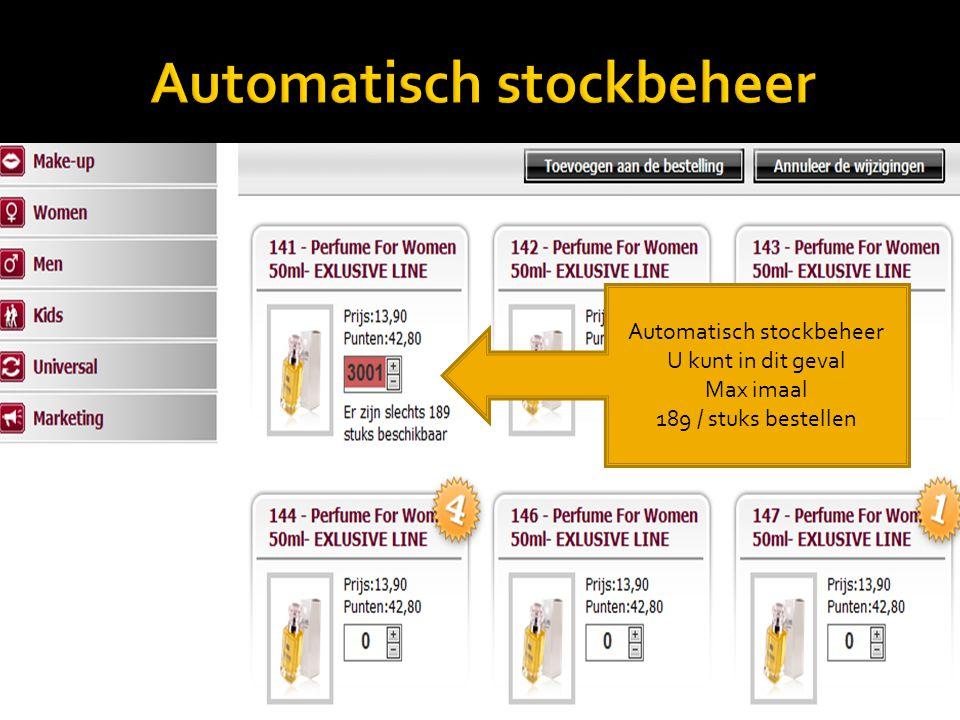 Automatisch stockbeheer