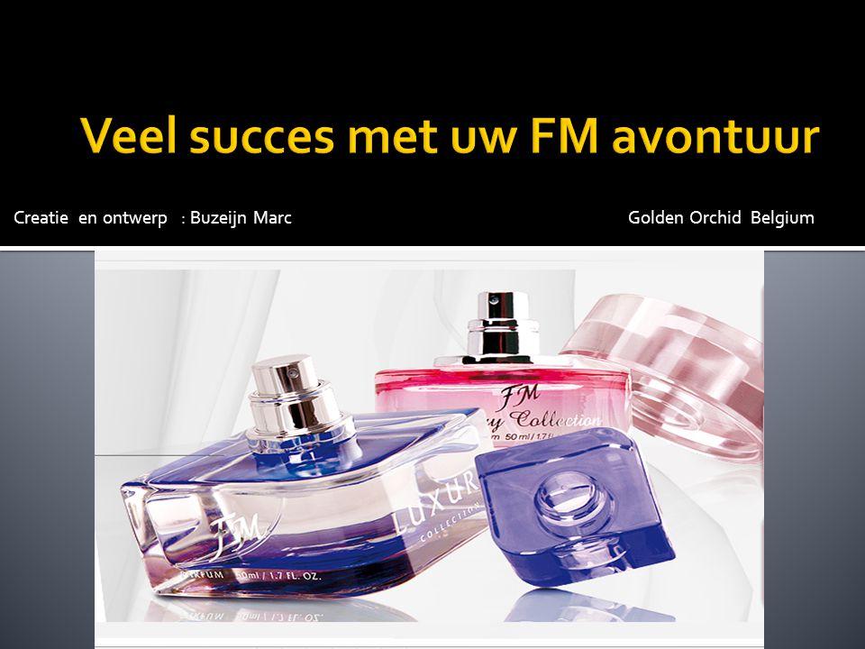 Veel succes met uw FM avontuur