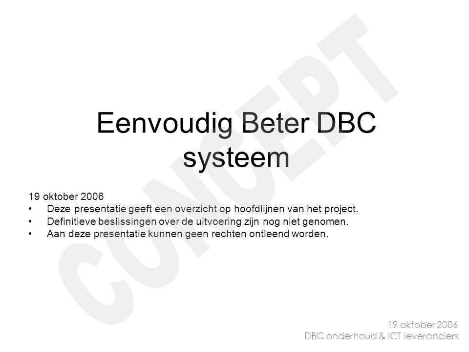 Eenvoudig Beter DBC systeem
