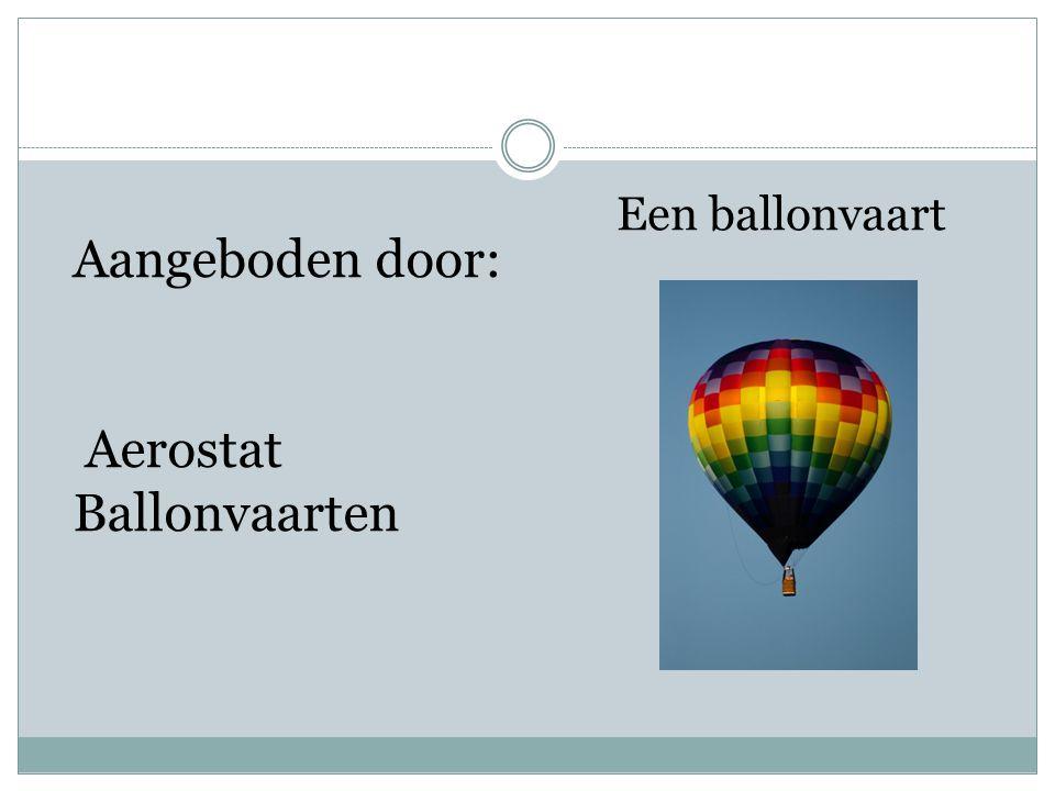 Aerostat Ballonvaarten