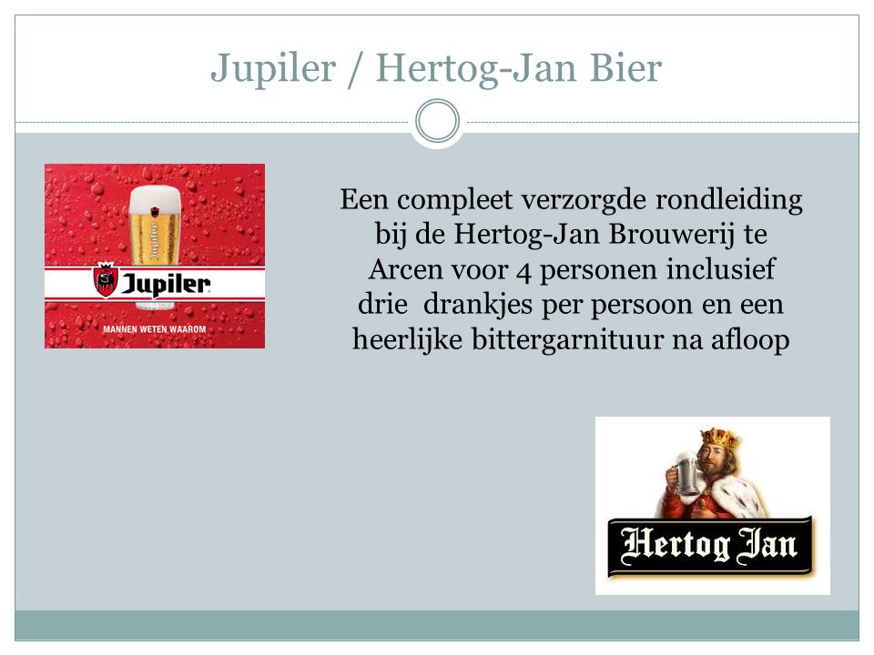 Jupiler / Hertog-Jan Bier