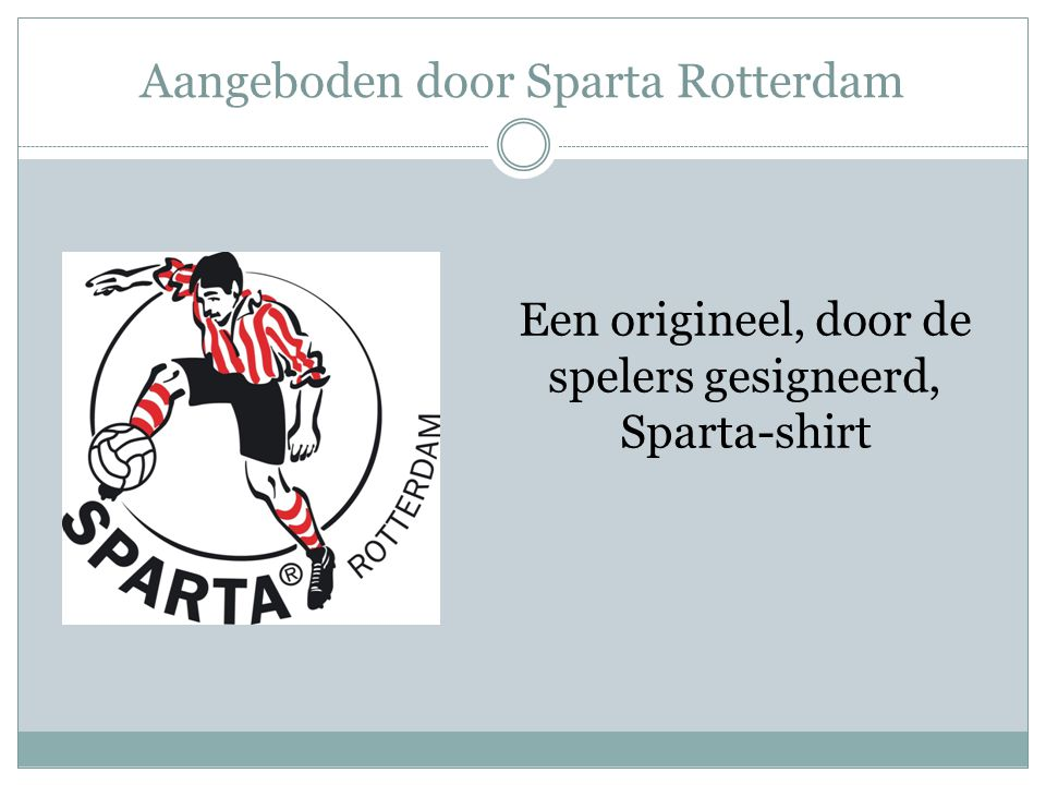Aangeboden door Sparta Rotterdam