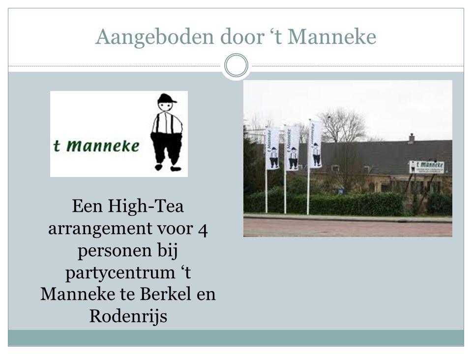 Aangeboden door 't Manneke