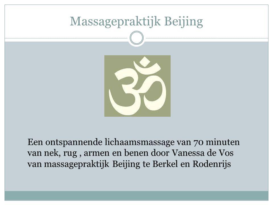 Massagepraktijk Beijing
