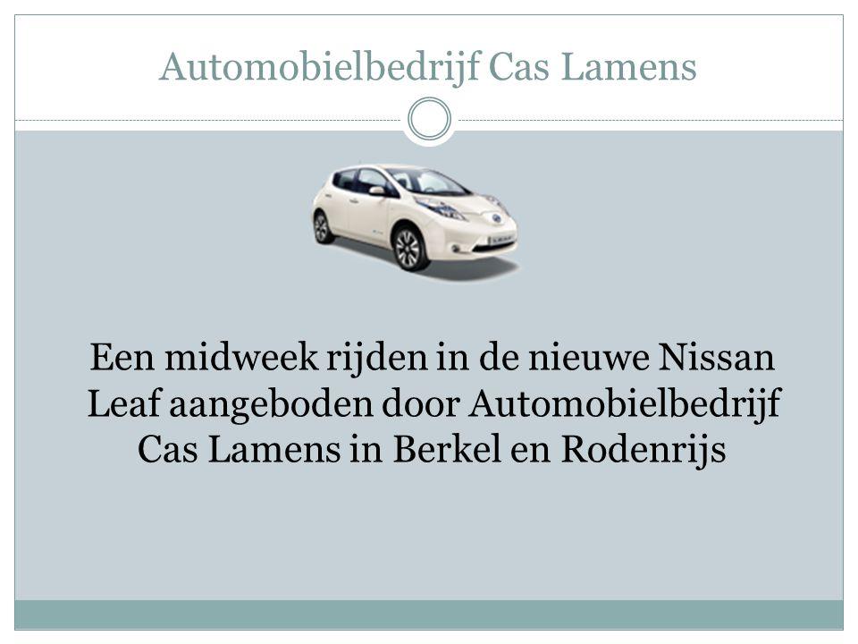 Automobielbedrijf Cas Lamens