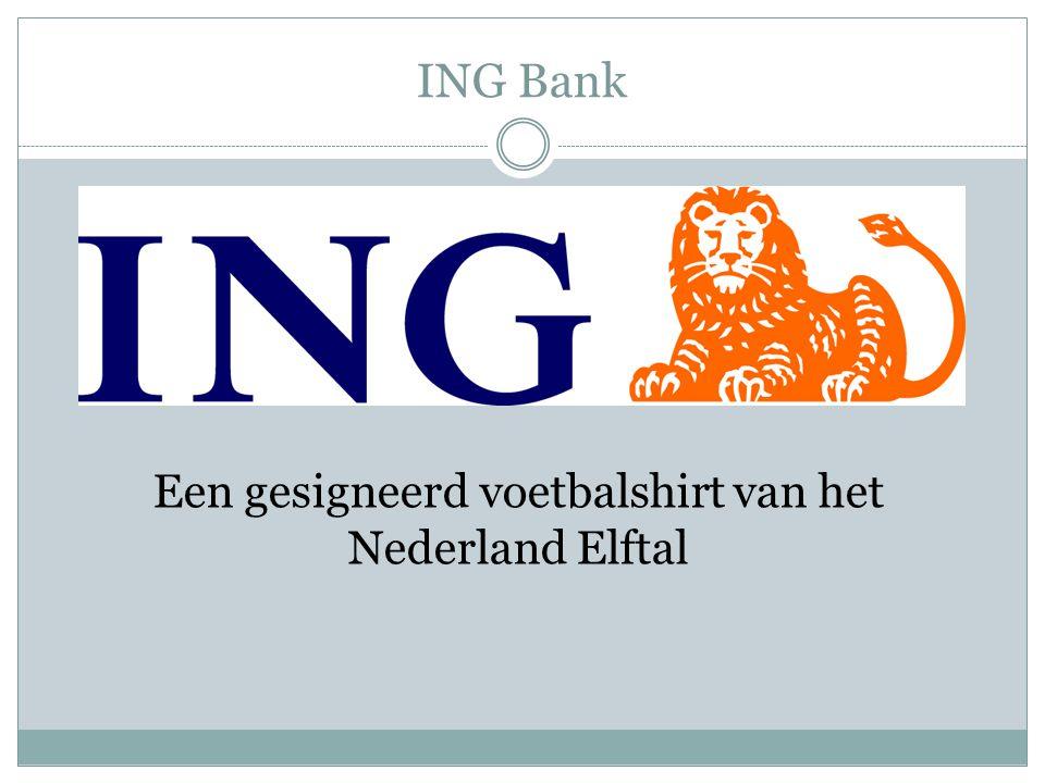 Een gesigneerd voetbalshirt van het Nederland Elftal