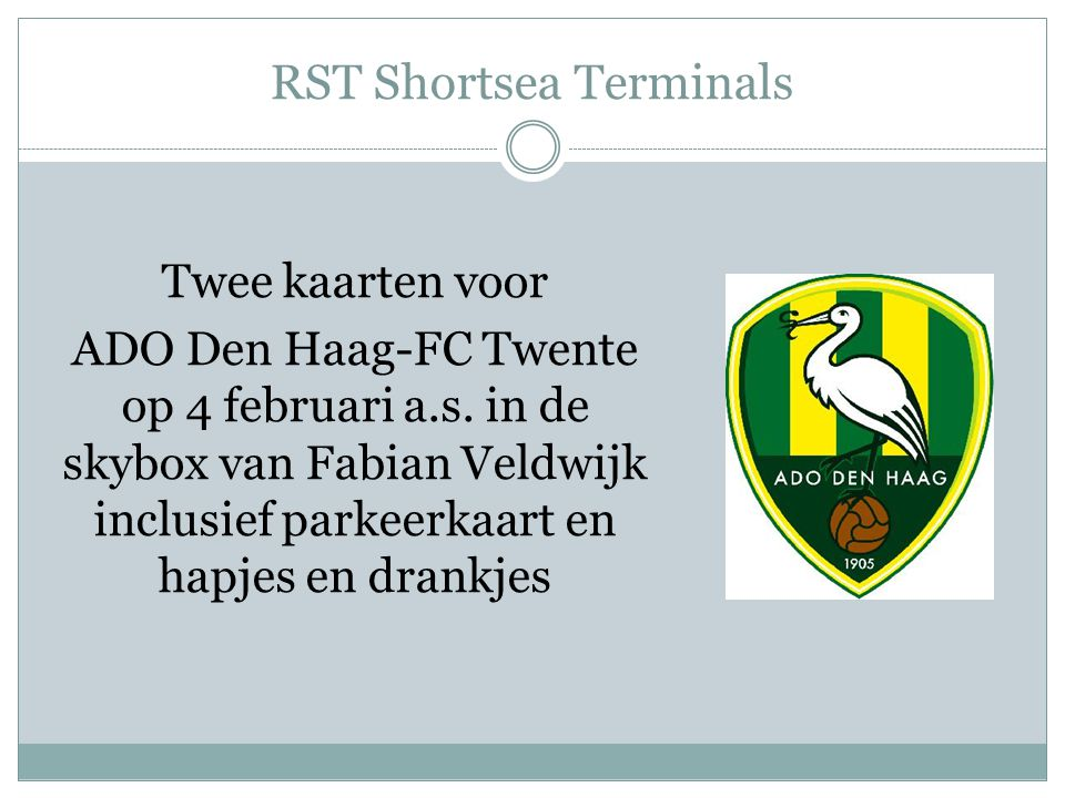 RST Shortsea Terminals