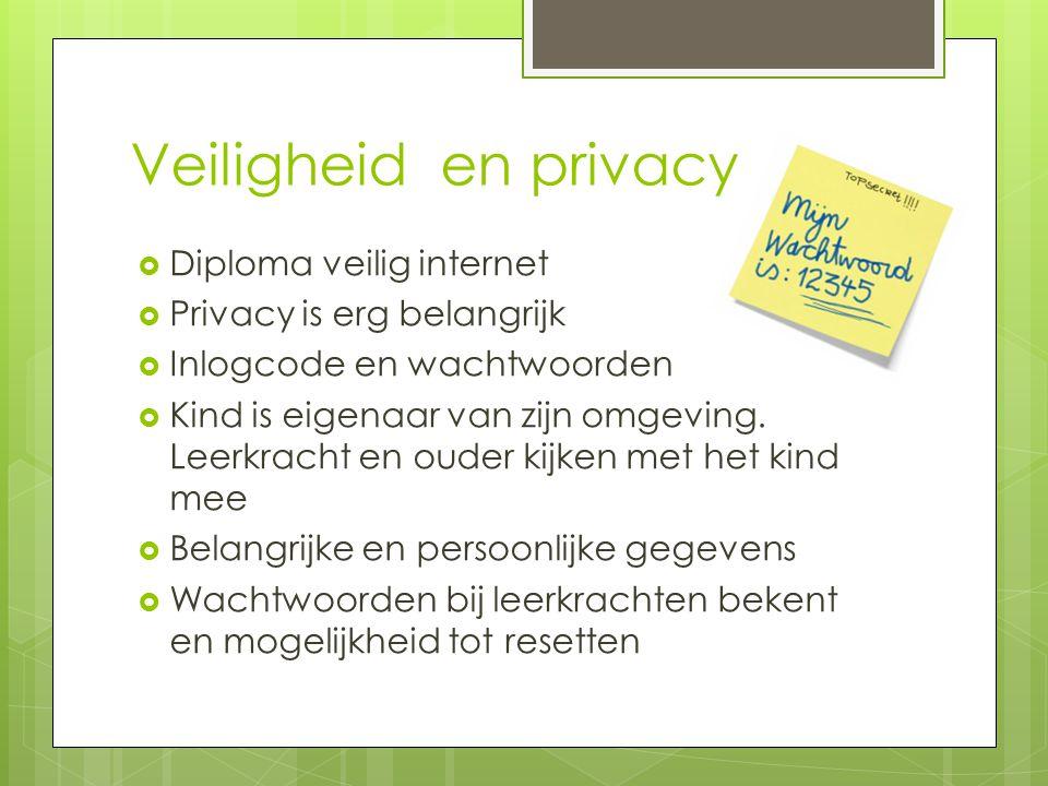 Veiligheid en privacy Diploma veilig internet