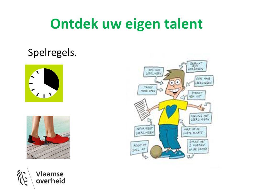 Ontdek uw eigen talent Spelregels.
