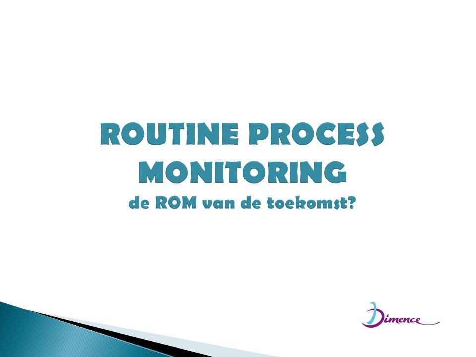 ROUTINE PROCESS MONITORING de ROM van de toekomst