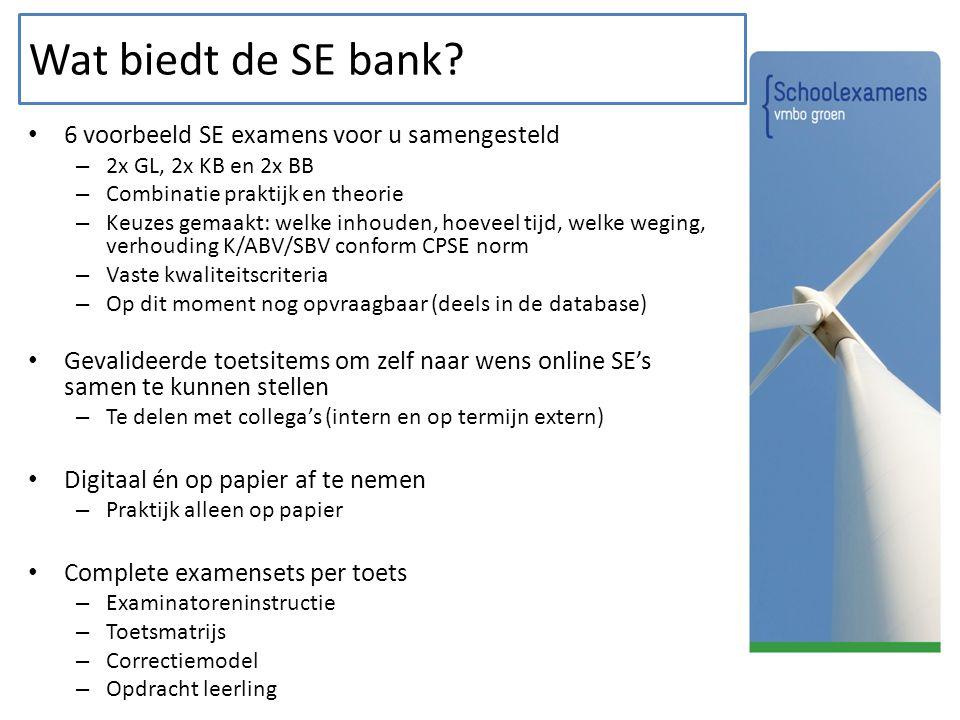 Wat biedt de SE bank 6 voorbeeld SE examens voor u samengesteld