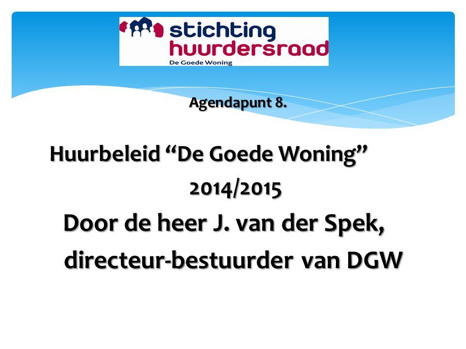 directeur-bestuurder van DGW