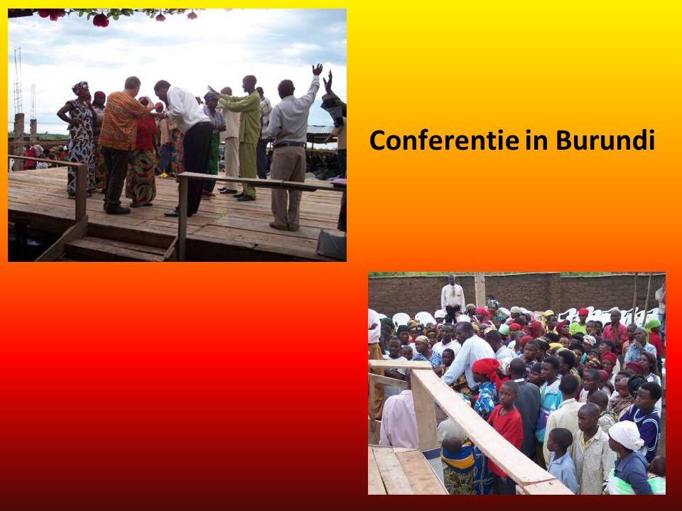 Conferentie in Burundi