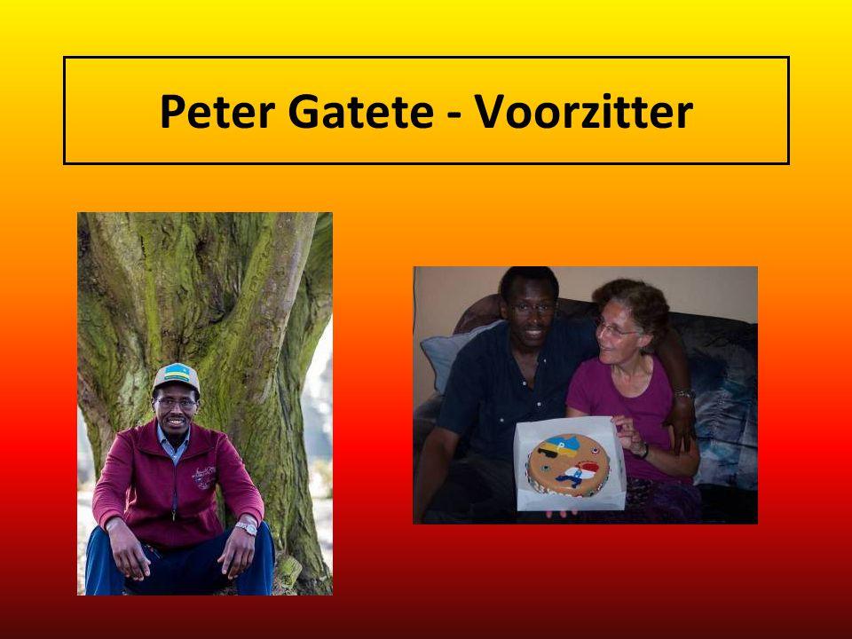 Peter Gatete - Voorzitter