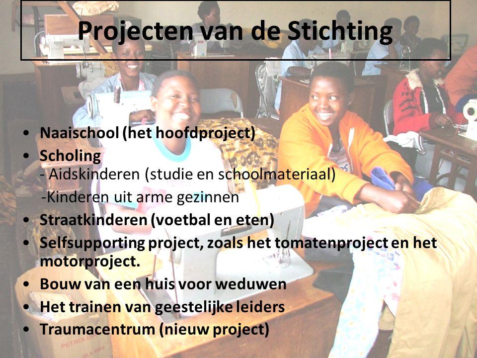 Projecten van de Stichting
