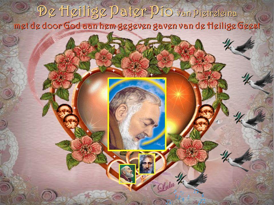 De Heilige Pater Pio van Pietrelcina