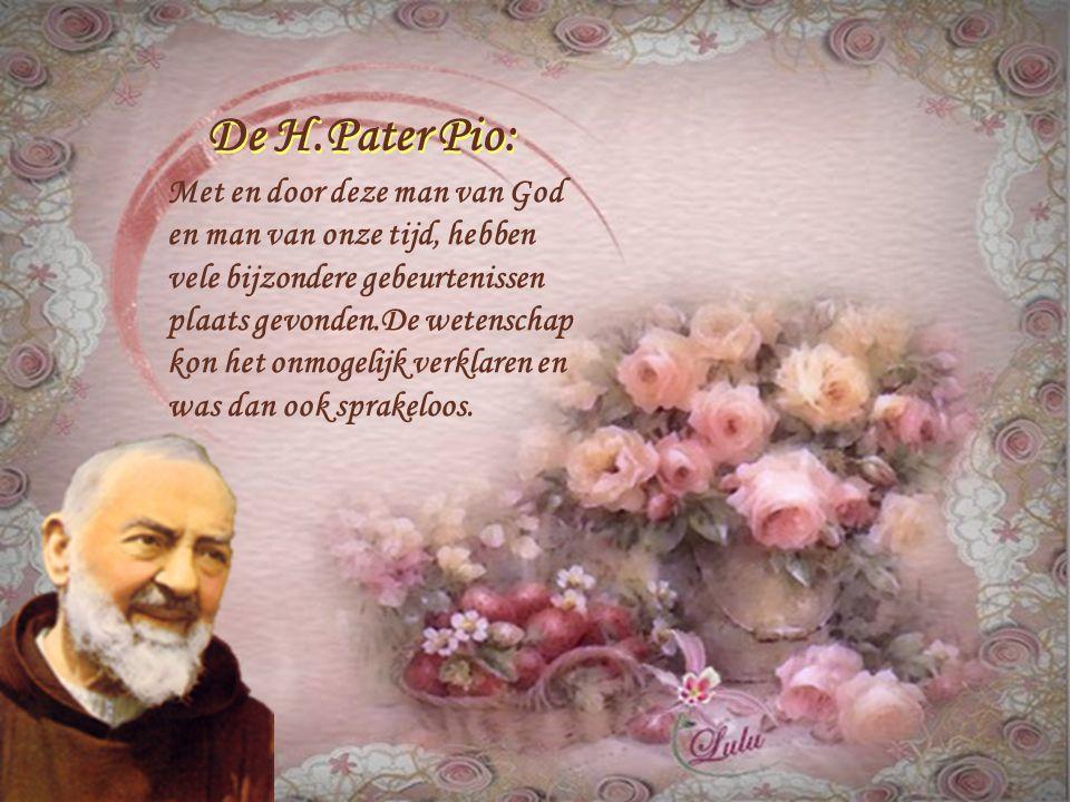 De H.Pater Pio: