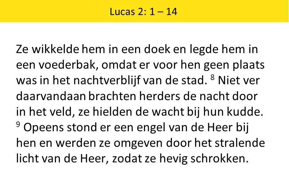 Lucas 2: 1 – 14