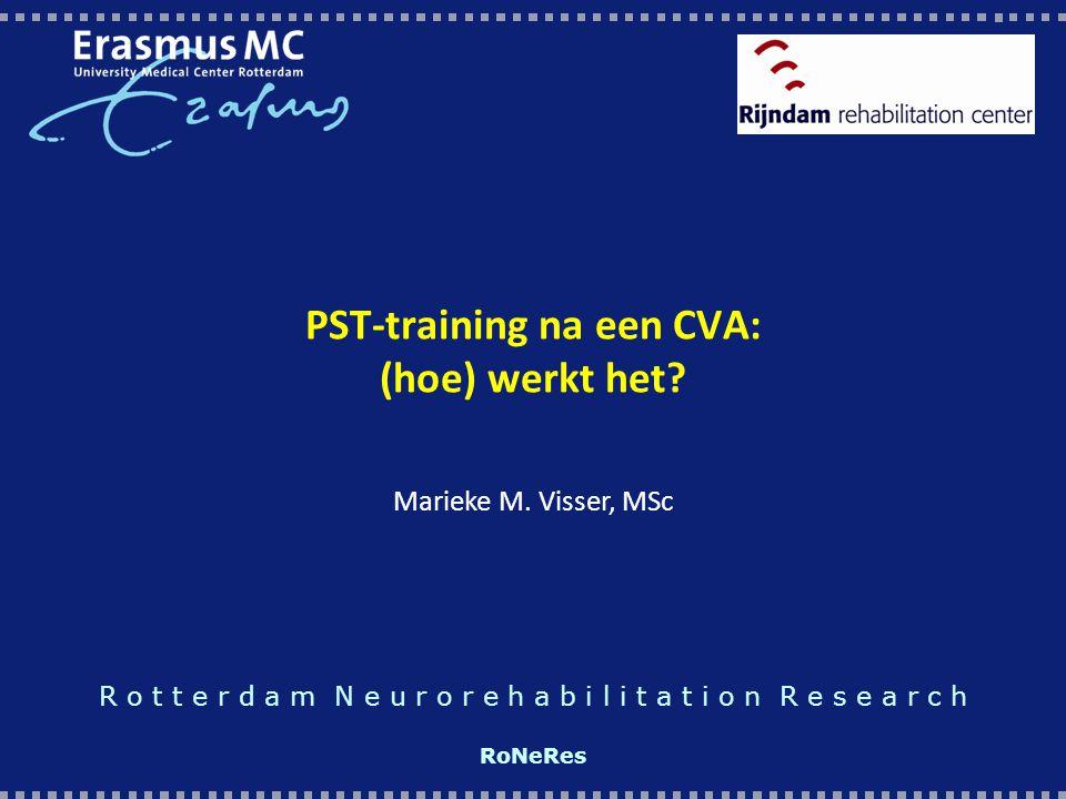 PST-training na een CVA: (hoe) werkt het