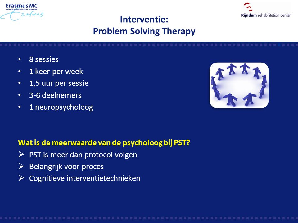 Interventie: Problem Solving Therapy