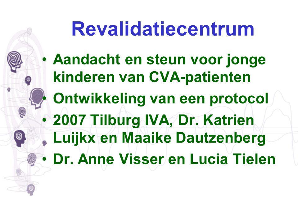 Revalidatiecentrum Aandacht en steun voor jonge kinderen van CVA-patienten. Ontwikkeling van een protocol.