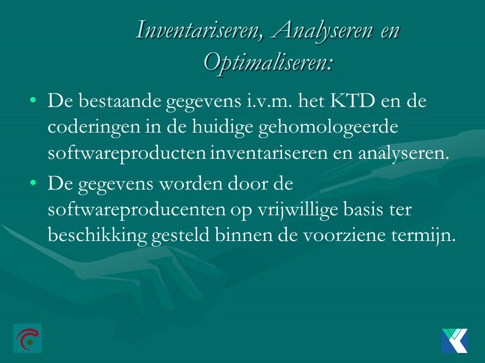 Inventariseren, Analyseren en Optimaliseren: