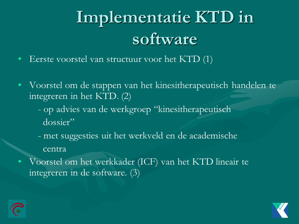 Implementatie KTD in software